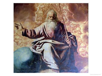 The Eternal Father, 1636-Francisco de Zurbar?n-Giclee Print