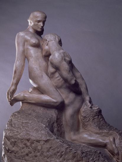 The Eternal Idol by Auguste Rodin (1840-1917), C.1889--Giclee Print