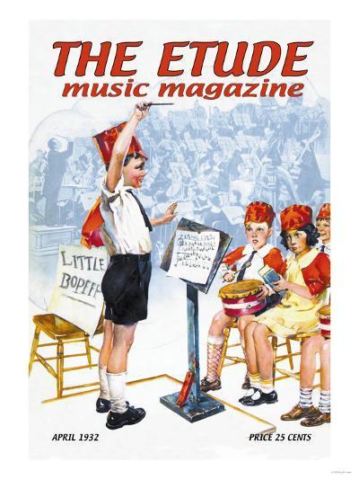 The Etude: Children's Orchestra--Art Print