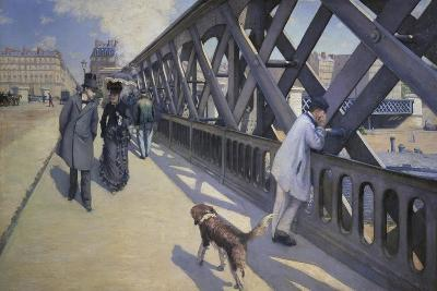 The Europe Bridge, 1876-Gustave Caillebotte-Giclee Print