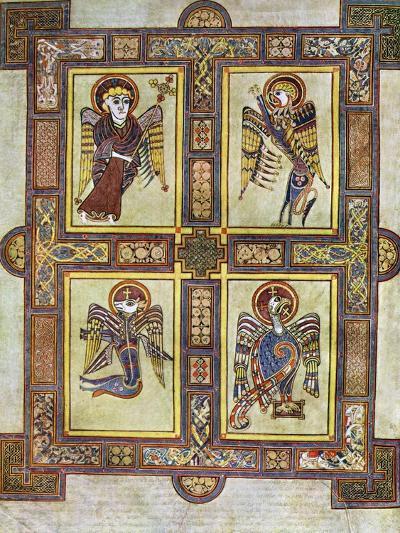 The Evangelical Symbols, 800 Ad--Giclee Print