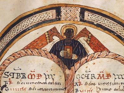 The Evangelist Matthew, Mozarabic Miniature from Liber Ordinum, 1052, Spain--Giclee Print