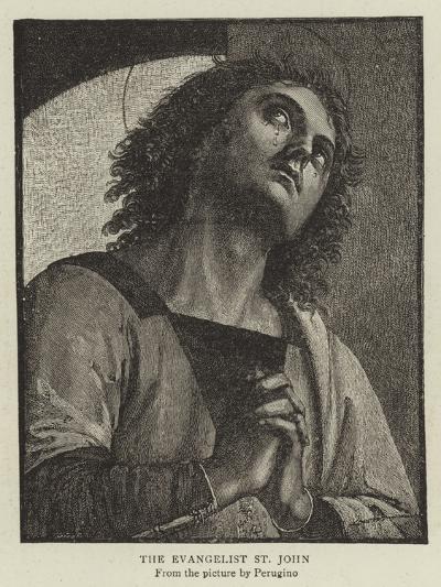 The Evangelist St John-Pietro Perugino-Giclee Print