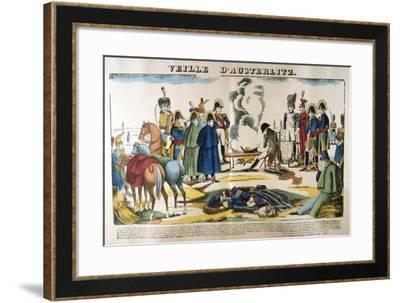 The Eve of Austerlitz, 1 December 1805--Framed Giclee Print