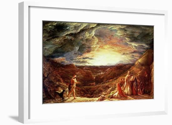 The Eve of the Deluge-John Linnell-Framed Giclee Print