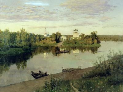 The Evening Bell Tolls, 1892-Isaak Ilyich Levitan-Giclee Print