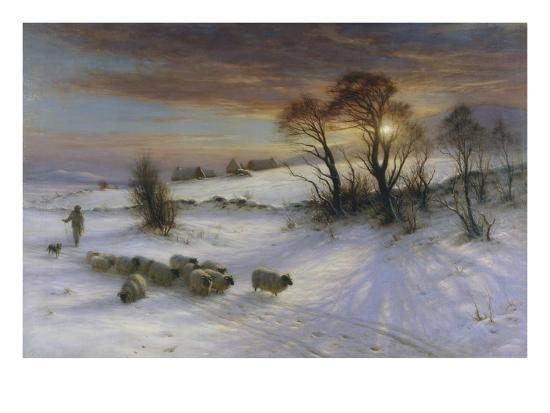 The Evening Glow-Joseph Farquharson-Giclee Print
