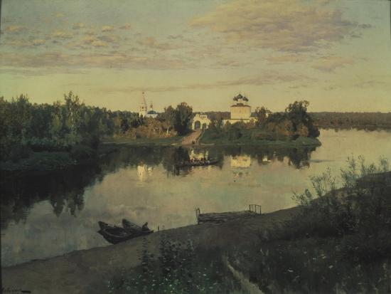 The Evening Ringing, 1892-Isaak Ilyich Levitan-Giclee Print