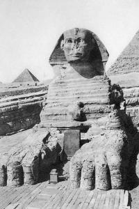 The Excavated Sphinx, Cairo, Egypt, C1920S