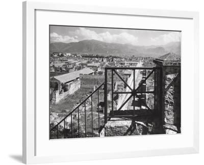 The Excavations of Pompeii-A^ Villani-Framed Photographic Print