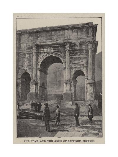The Excavations of Rome--Giclee Print