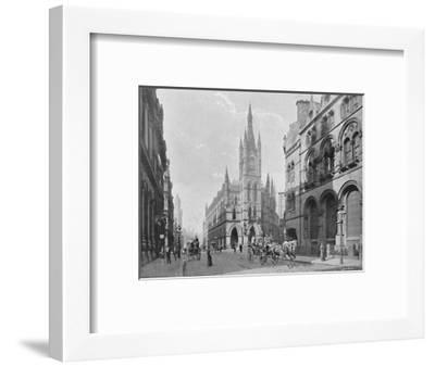 'The Exchange, Bradford', c1896-Hudson-Framed Photographic Print