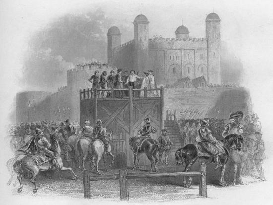 'The Execution of Dudley Earl of Leicester', 1859-Unknown-Giclee Print