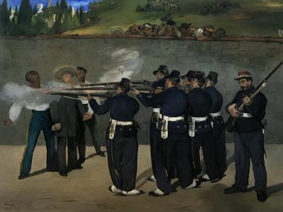 The Execution of Emperor Maximilian of Mexico, June 19, 1867-Edouard Manet-Giclee Print
