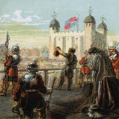 The Execution of Lord Strafford, 1641--Giclee Print