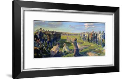 The Execution of the First Council of Berdyansk, 1935-Lev Neumark-Framed Giclee Print
