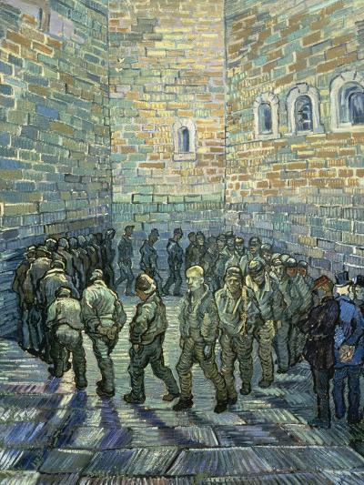 The Exercise Yard, 1890-Vincent van Gogh-Giclee Print