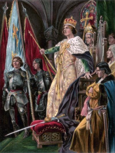 The Exhortation Addressed to Edward IV, Westminster, 29 June 1461--Giclee Print