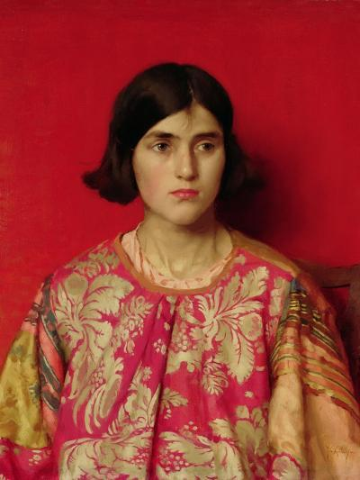 """The Exile: """"Heavy Is the Price I Paid for Love"""", 1930-Thomas Cooper Gotch-Giclee Print"""