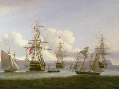 The Exile's Departure, 1826-Thomas Luny-Giclee Print