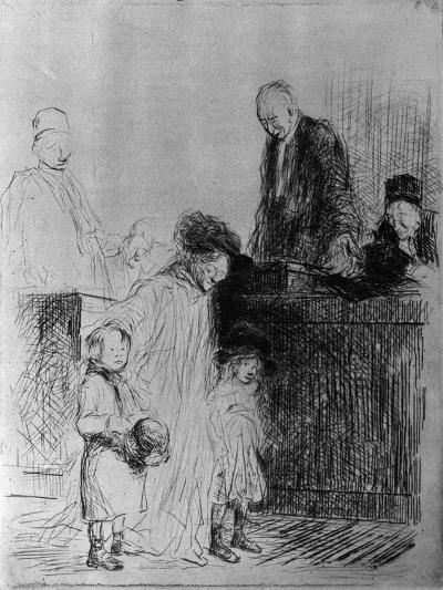 The Exit of the Audience, 1925-Jean Louis Forain-Giclee Print