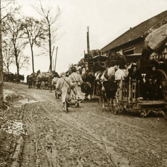 'The Exodus', c1914-c1918-Unknown-Photographic Print