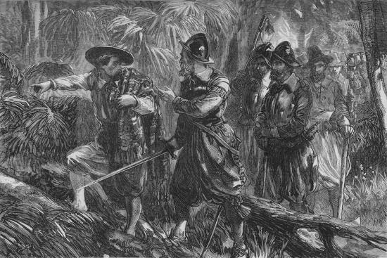'The Expedition Against Santiago', c1880-Unknown-Giclee Print
