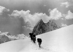 The Expedition for the Conquest of K2 Marching To the Top
