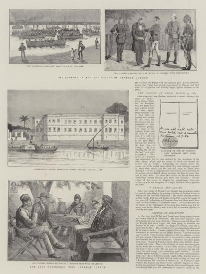 The Expedition for the Relief of General Gordon--Giclee Print