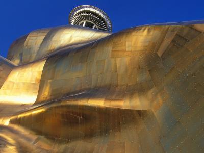 The Experience Music Project, Seattle, Washington, USA-William Sutton-Photographic Print