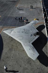 The Experimental X-47B Unmanned Combat Air System Demonstrator