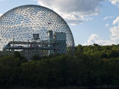 The Expo 1967 Geodesic Dome, Now Called the Biosphere Is in Canada-Stacy Gold-Photographic Print