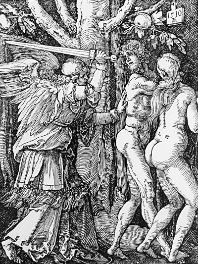 The Expulsion from Paradise, 1510-Albrecht D?rer-Giclee Print