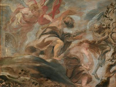 The Expulsion from the Garden of Eden-Peter Paul Rubens-Giclee Print