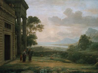 The Expulsion of Hagar and Ismael, 1668-Claude Lorraine-Giclee Print