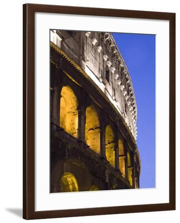 The Exterior of the Colosseum at Dusk-Daniella Nowitz-Framed Photographic Print
