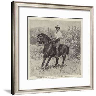 The Eyes and Ears of the Company's Forces, Mr F C Selous Out Scouting--Framed Giclee Print