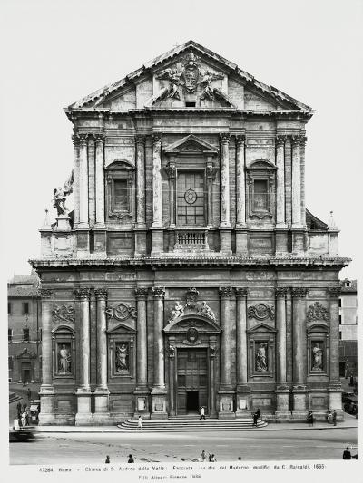 The Facade of St Andrew of the Valley--Giclee Print