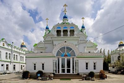 The Facade of the Orthodox Sv Ekaterininskaya Church, Feodosia, Crimea, Ukraine--Photographic Print