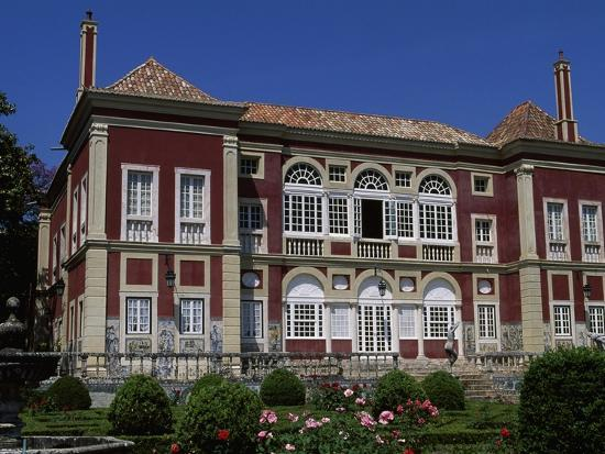 The Facade of the Palace of the Marquesses of Fronteira--Giclee Print
