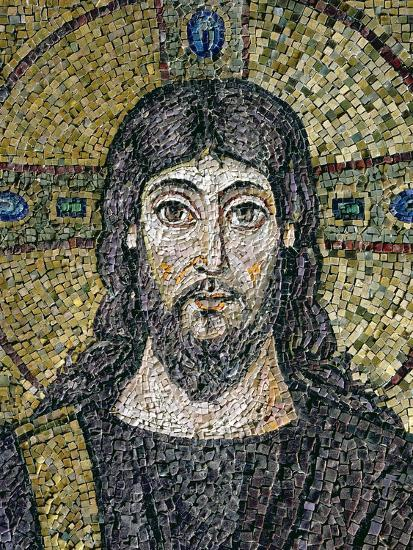 The Face of Christ-Byzantine School-Premium Giclee Print