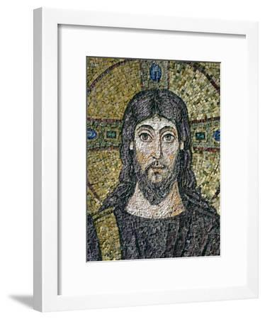 The Face of Christ-Byzantine School-Framed Giclee Print