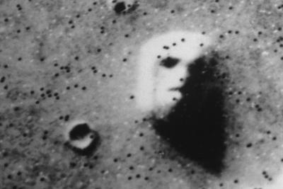 "The ""Face"" on Mars-Roger Ressmeyer-Photographic Print"