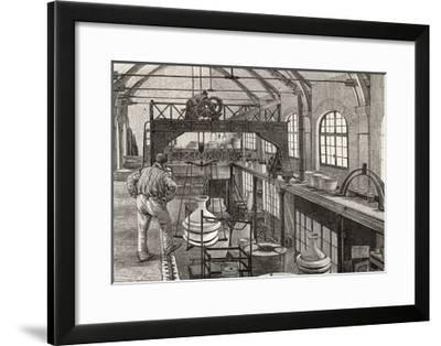 The Factory of Sevres from Revue De L'Expo Universelle De 1889--Framed Giclee Print