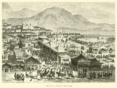 The Fair of Pucara in the Andes-?douard Riou-Giclee Print