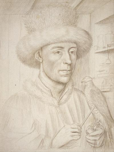 The Falconer-Petrus Christus-Giclee Print
