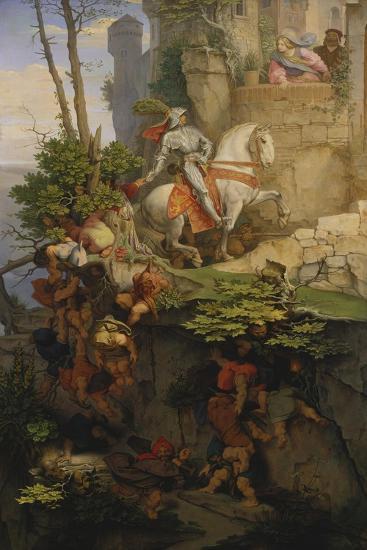 The Falkenstein Knight, 1843-44-Moritz Von Schwind-Giclee Print