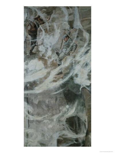The Fall I-Ferdinand Hodler-Giclee Print