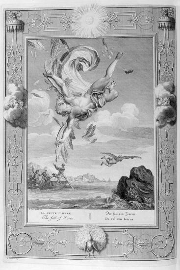 The Fall of Icarus, 1733-Bernard Picart-Giclee Print