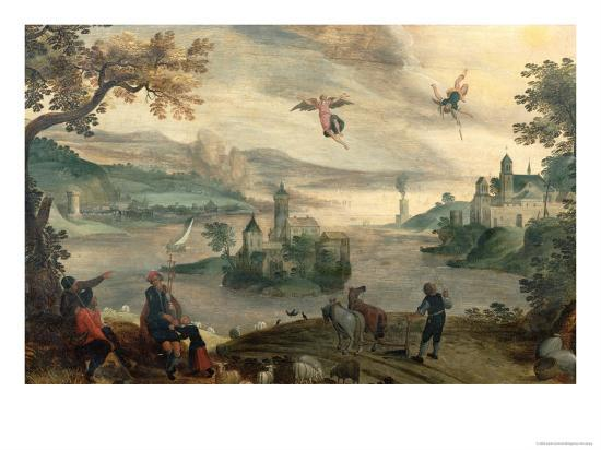 The Fall of Icarus-Jacob Grimmer-Giclee Print